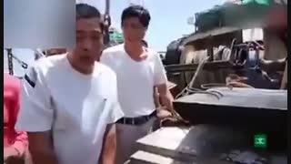 پرونده باز صد ماهی های دریای خزر توسط چینی ها