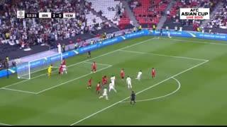 خلاصه دیدار ایران 5_0 یمن (جام ملتهای آسیا)
