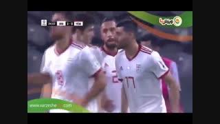 گلهای بازی ایران و یمن (جام ملتهای آسیا2019)