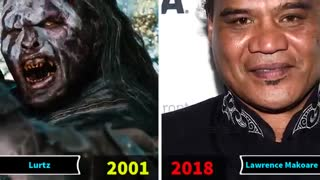 ستاره های فیلم ارباب حلقه ها در سال 2011 و  در سال 2018