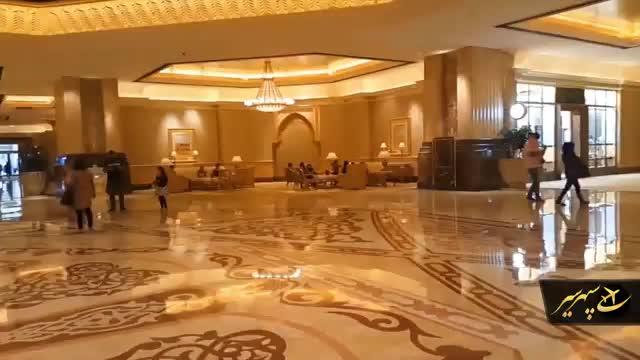 بازدید از کاخ ابوظبی هتل هفت ستاره دنیا