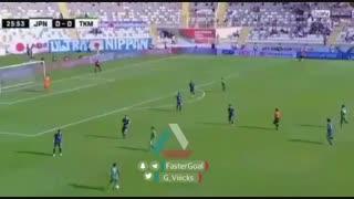 سوپر گل ترکمنستان به ژاپن  در جام ملتهای آسیا2019