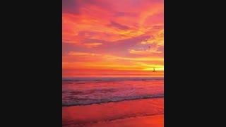 میدونید زیباترین غروب متعلق به کدوم ساحله؟
