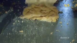 طرز پخت شیرینی سنتی قرابیه تبریز