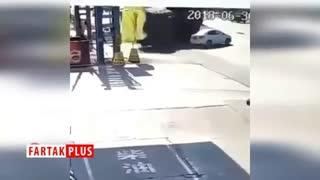 صحنههایی وحشتناک از تصادف خودروهای سنگین