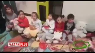 آوازخوانی جالب یک کودک معلول برای وزیر سابق بهداشت