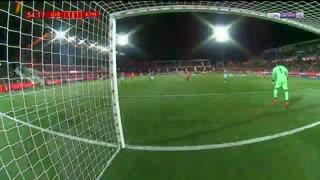 خلاصه دیدار خیرونا 1_1 اتلتیکومادرید (جام حذفی اسپانیا)