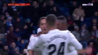 خلاصه دیدار رئال مادرید 3_0 لگانس (بازی رفت مرحلۀ یک هشتم نهایی کوپادلری)