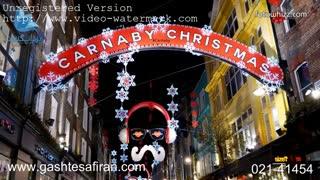 شب های لندن در کریسمس