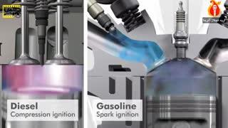 یک موتور دیزل چگونه کار میکند
