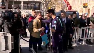 سفر تیم بارسلونا برای بازی با لوانته