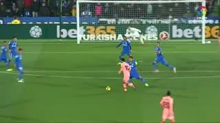 حرکات و گل لیونل مسی مقابل ختافه