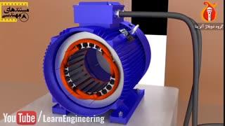 نحوه عملکرد موتور های القایی -قسمت اول