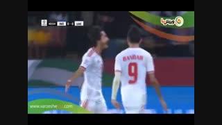 خلاصه بازی امارات 2 - هند 0 (20-10-1397)