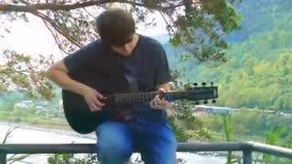 اوپنینگ 1 انیمه دفترچه مرگ کاور گیتار Death Note op 1 guitar