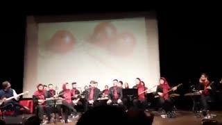 آموزش آواز - صداسازی - محمود عبدالملکی - تصنیف شیشه می در شب یلدا شکست - مهستی