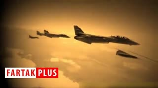 لحظه سوختگیری هوایی جنگنده محبوب ایرانی