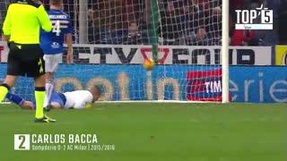 5 گل برتر آثمیلان به سمپدوریا در جام حذفی ایتالیا