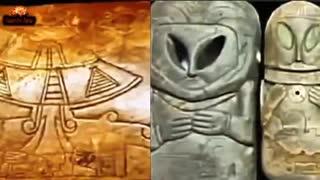 مستندی از مایاها برای نمایش تماس مایاها با بیگانگان فضایی و موجودات فرا زمینی