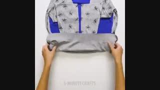 نحوه ی صحیح تا کردن لباس ها (مناسب برای سفر)- قسمت دوم