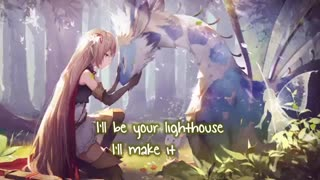 Nightcore ⇢ I see your monsters (Lyrics)(360P)