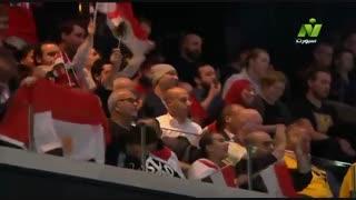 دیدار تیم های ملی مصر و سوئد در هندبال قهرمانی جهان2019
