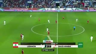 خلاصه دیدار لبنان 0_2 عربستان ( جام ملتهای آسیا2019)