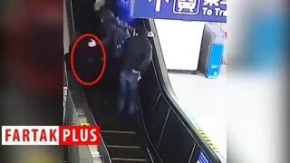 اقدام انساندوستانه پلیس در ایستگاه مترو