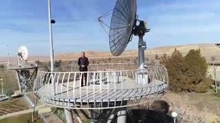 ویدئویی که وزیر ارتباطات از تاثیر فناوری فضایی بر زندگی مردم منتشر کرد