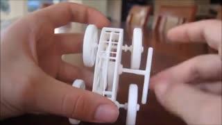 پرینتر سه بعدی و ماشین اسباب بازی