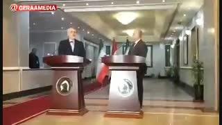 اظهارات دکتر محمد جواد ظریف پس از دیدار با وزیر خارجه عراق