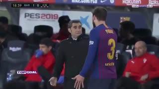 خلاصه دیدار بارسلونا 3_0 ایبار (هفته نوزدهم لالیگا اسپانیا)