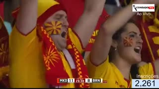 دیدار تیم های مقدونیه و بحرین در هندبال قهرمانی جهان2019