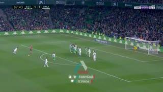 گل دوم رئال مادرید به رئال بتیس توسط دنی سبایوس