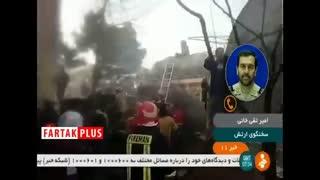 توضیحات سخنگوی ارتش درباره سقوط هواپیما کرج