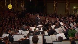 قطعات اجرا شده در کنسرت سال نوی وین
