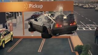 تبلیغ جالب Walmart با خودروهای معروف سینما