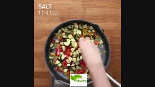 طرز تهیه غذای گیاهی خوشمزه - سبزی لاین