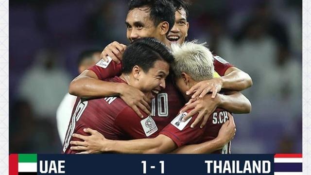 خلاصه بازی امارات 1_1 تایلند (جام ملتهای آسیا 2019 امارات)