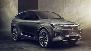 تازهترین خودروی شاسیبلند برقی چینی