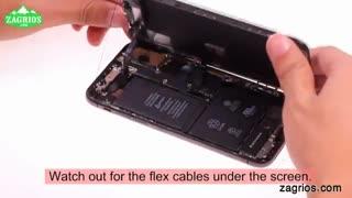 آموزش تعویض باتری موبایل iphone X - زاگریوس