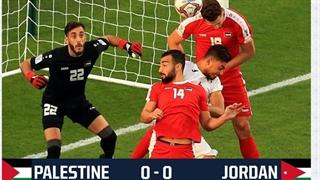 خلاصه بازی فلسطین 0_0 اردن (جام ملتهای آسیا 2019 امارات)
