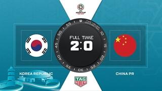 خلاصه دیدار کره جنوبی 2_0 چین (جام ملتهای آسیا2019)
