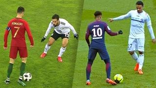 10 حرکت نمایشی فوقالعاده بازیکنان فوتبال جهان