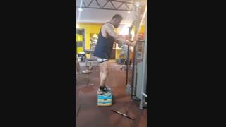 آموزش حرکت بدنسازی پشت پا سیم کش