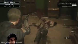 لیون وارد می شود | دموی ResidentEvil 2 Remake