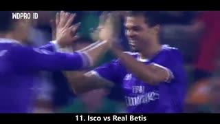 15 گل دیدنی رئال مادرید تحت هدایت زیدان