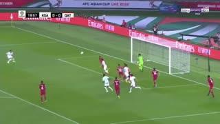 خلاصه دیدار عربستان 0_2 قطر (جام ملتهای آسیا)