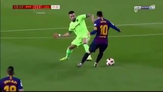 خلاصه دیدار بارسلونا 3_0 لوانته (جام حذفی اسپانیا)