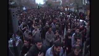 بزرگ هیئت تکیه ابوالفضل(ع) ملایر-سومین هیئت بزرگ ایران-عاشورای 1392